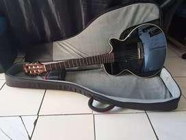 Gitar Cort Sunset NY-BK Acoustic Electric Black Original