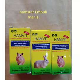 Vitamin hamster & kelinci