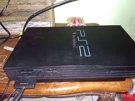 Dijual PS 2 Fat hdd bekas murah