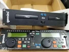 DJ console + CD-840 professional CD player
