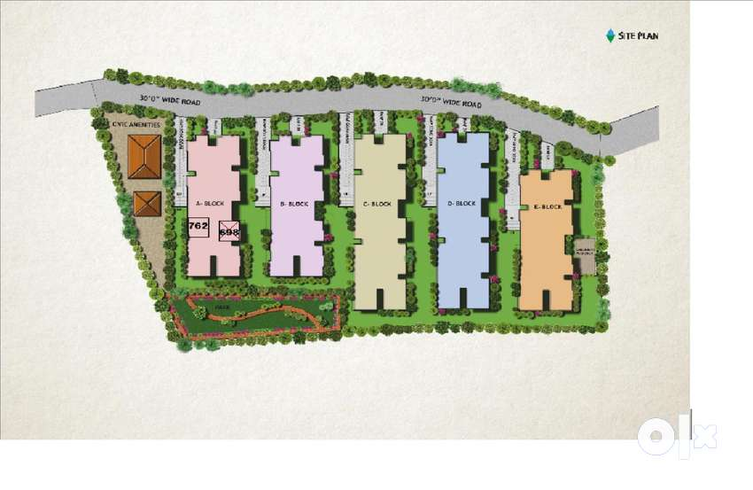 1Bhk Flat for sale at Shaktinagar, Mangalore 0