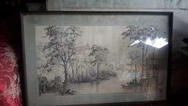 Lukisan lawas estetik
