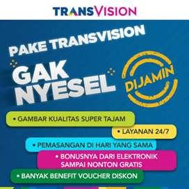 Pasang murah parabola Transvision HD cuma 420rb 6bln free HBO