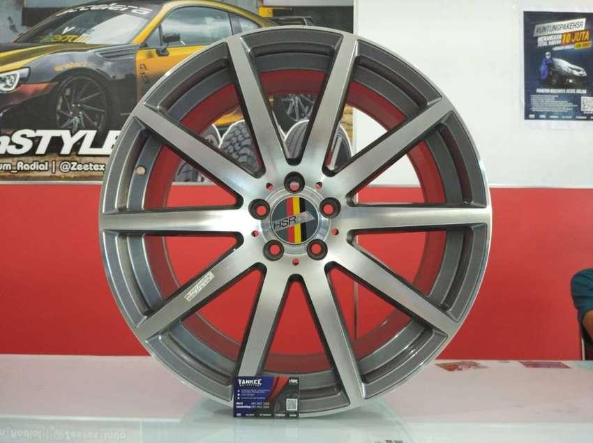 Velg Mobil HSR ARU R20 untuk Mercy, Macan, Mazda 6 dll 0
