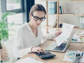 Female Accountant for CA firm - GST, ACCOUNTS AND TAX