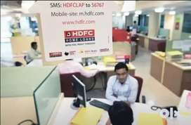 Office assistant and backend job in hdfc bank onroll job