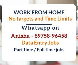 Work From Home. Simple typing job. Earn weekly 5000/-