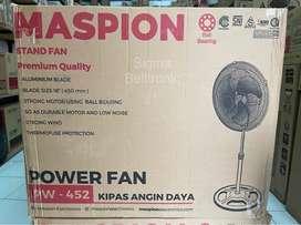 Kipas angin berdiri MASPION 18 inch Premium BESI Power StandFan PW-452