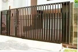 pintu pagar minimalis pekanbaru.