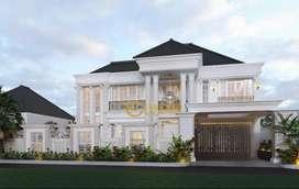 Jasa Arsitek Kalimantan Barat Desain Rumah 612m2 - Emporio Architect