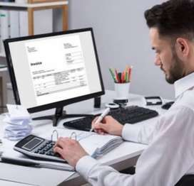Accountant required in showroom