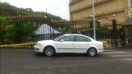 Top end Automatic White Skoda Superb with Sunroof