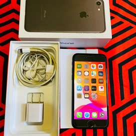 Iphone 7 256 gb fullset mulus bergaransi