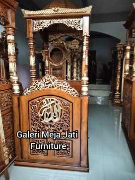 Minbar masjid minimalis E210 kode