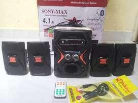 Sony-Max 4.1 Multimedia Speaker system