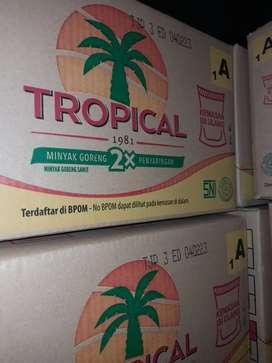 Minyak Goreng Tropical 2liter Produksi baru dari Pabrik
