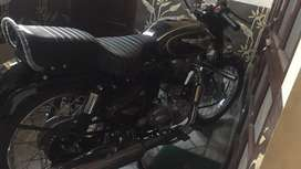 My byke is new jan 2021 model only 505 km run