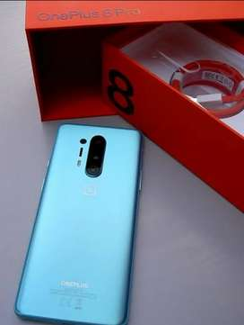 One plus 8 pro with box and orginal charger