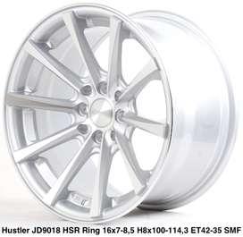 Velg murah harga distributor HUSTLER JD9018 HSR R16X785 H8X100-114,3 E