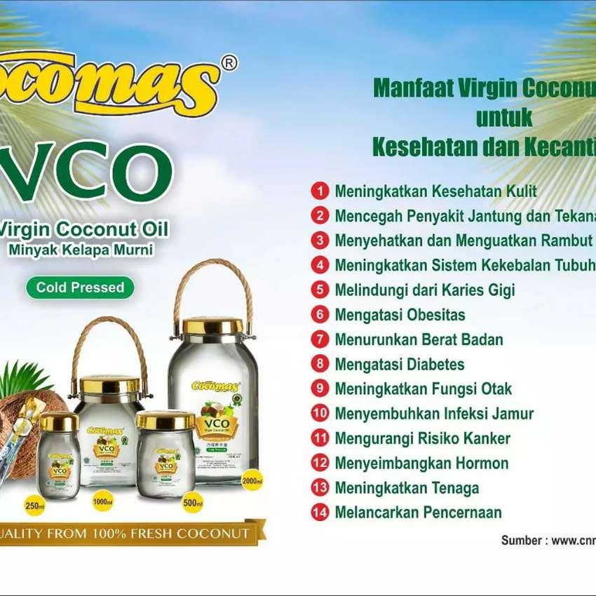 Virgin coconut oil ( meningkatkan sistem kekebalan tubuh) 0