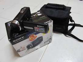Sony DCR-SX21E  Camcorder with 57x Optical Zoom (Black)