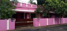 KIZHAKUMPATUKARA,10 cent plot,including an old terrace house,14 Lac/ c