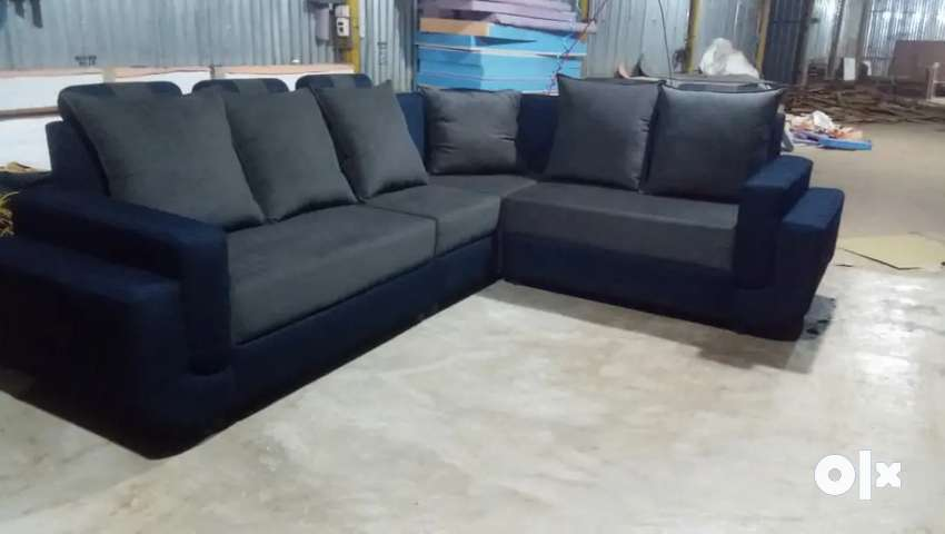 Full cover corner sofa @ free home delivery 0