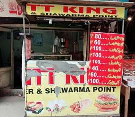 Shawarma-Bruger Counter For Sale