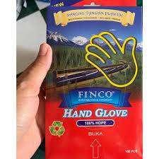 Sarung Tangan Plastik food grade isi 100 lembar