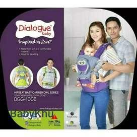 Gendongan Hipseat Dialogue Owl Series DGG1006