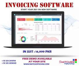 Accounting Software ERP, Inventory management and Payroll HR