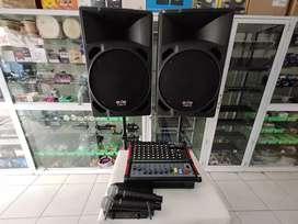 Dijual Paket Sound System Pasif Keperluan kantor dan Aula