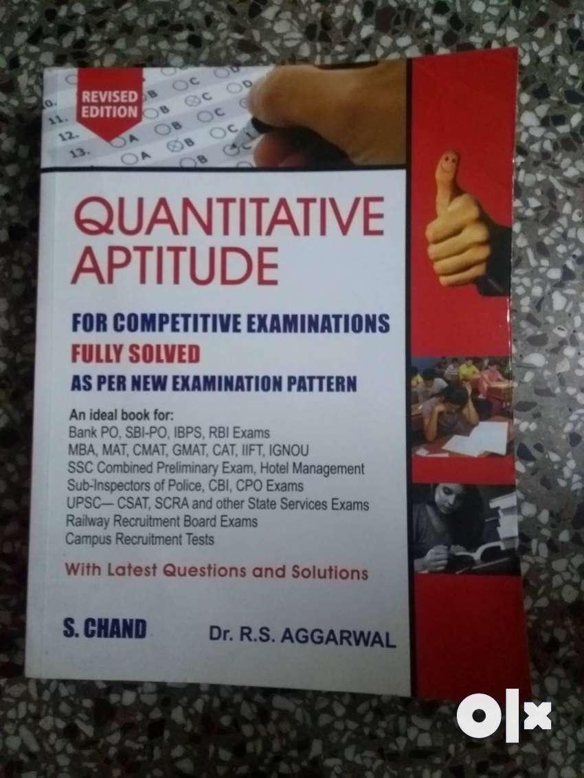 Quantitative aptitude book 0