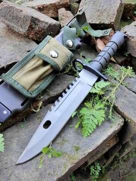 Pisau sangkur bayonet belati militer TNI BRIMOB usmc m9 kopasus
