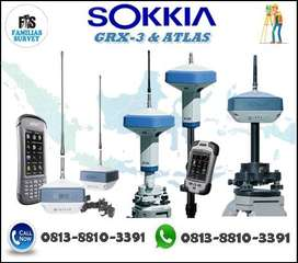 Jual Gps Geodetik Sokkia GRX3 RTK NEW Promo Distributor