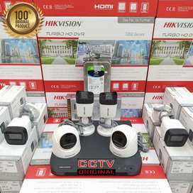 PASANG baru Kamera CCTV bergaransi free instalasi COD