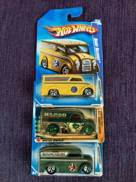 Hot Wheels Dairy Delivery 3 pcs