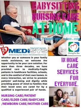 Medisys reliable and trustworthy babysitter, nanny, maid, cook,  nurse