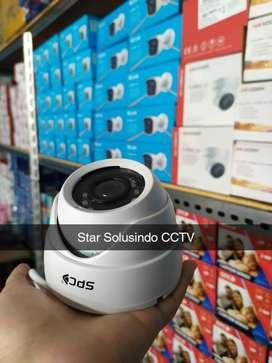PAKET LENGKAP!! CCTV SPC 4CH 2MP LANGSUNG PANTAU