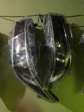 Headlamp lampu depan innova venturer led