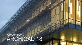 ArchiCAD 18 (Training, Get Internship as well*)