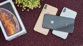 IPhone Xs Max 512GB Mulus Total bosku - bonus fast charging 18w