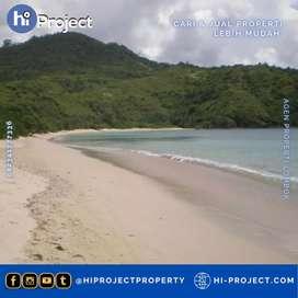 Tanah Lombok barat pinggir Pantai Panggang Sekotong T539