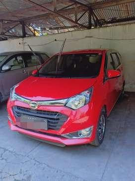 Daihatsu Sigra Red