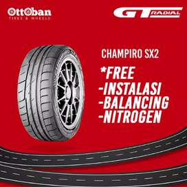 Jual ban mobil GT radial champiro sx2 215 45 R17.
