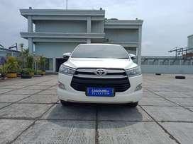 toyota Innova V matic diesel Putih 2017 kondisi seperti baru