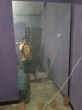 Kaca cermin besar 1m x 2m