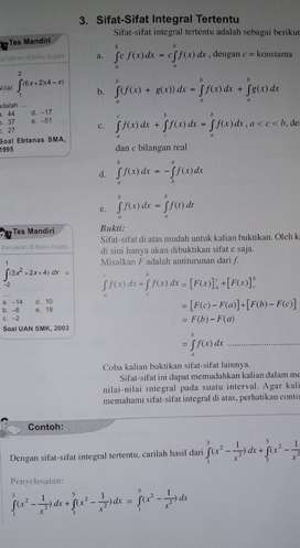 Guru les privat SD SMP SMA matematika fisika kimia di Batam