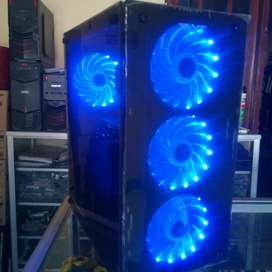 Pc gaming&desain i5 4590/ram 8gb/ssd 240&hdd 500gb/vga 4gb 128bit ddr5