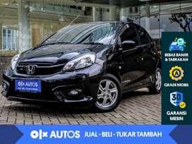 [OLX Autos] Honda Brio 1.2 Satya E M/T 2018 Hitam